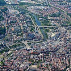 Saarbrücken, Luftaufnahme - Bildtankstelle.de