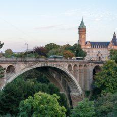 Blick auf die Stadt Luxemburg - Bildtankstelle.de