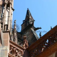 Detailansicht des Straßburger Münsters - Bildtankstelle.de