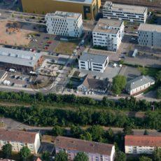 Luftaufnahme Saarland Saarbrücken Zentrum - Bildtankstelle.de