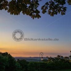 Sonnenuntergang, Spicherer Höhe Lothringen Frankreich - Bildtankstelle.de