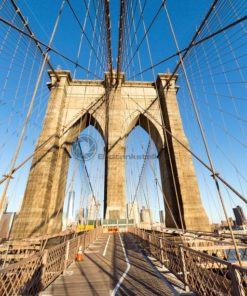 Brooklin Bridge, New York, USA - Bildtankstelle.de