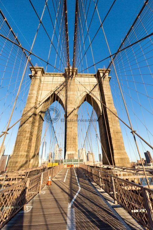 Brooklin Bridge, New York, USA - Bildtankstelle.de