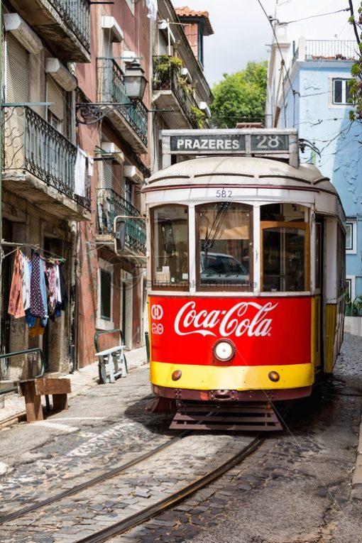 Eléctricos de Lisboa, Lissabon - Bildtankstelle.de