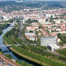 Saarbrücken aus der Luft - Bildtankstelle.de