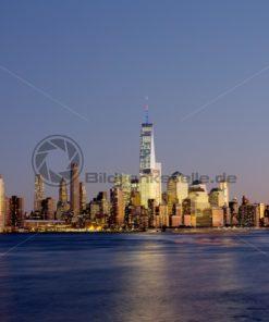 Skyline New York, USA - Bildtankstelle.de