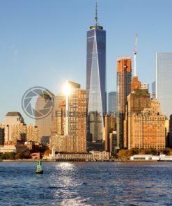 Skyline von Manhattan, New York, USA - Bildtankstelle.de
