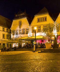 St. Wendel bei Nacht - Bildtankstelle.de