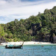 Traumstrand auf PhiPhi Island - Bildtankstelle.de