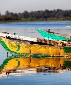 Fischerboot auf dem Nil - Bildtankstelle.de
