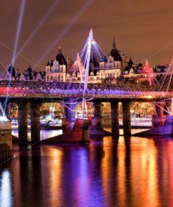 London bei Nacht - Bildtankstelle.de