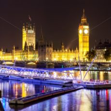 Palace of Westminster in London - Bildtankstelle.de