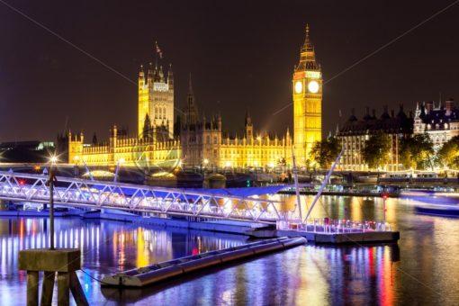 Palace of Westminster in London - Bildtankstelle.de