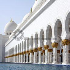 Scheich-Zayid-Moschee, Abu Dhabi, VAE - Bildtankstelle.de