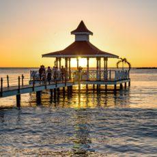 Sonnenuntergang in der Karibik - Bildtankstelle.de