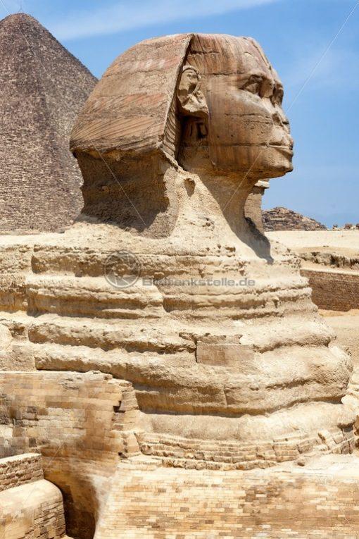 die Große Sphinx von Gizeh - Bildtankstelle.de
