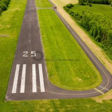 Landebahn 25, Flugplatz Düren, Saarland - Bildtankstelle.de