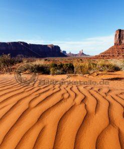 Strukturen im roten Sand, Colorado, USA - Bildtankstelle.de