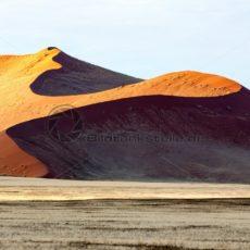 rote Düne bei Sossusvlei, Namibia, Afrika - Bildtankstelle.de