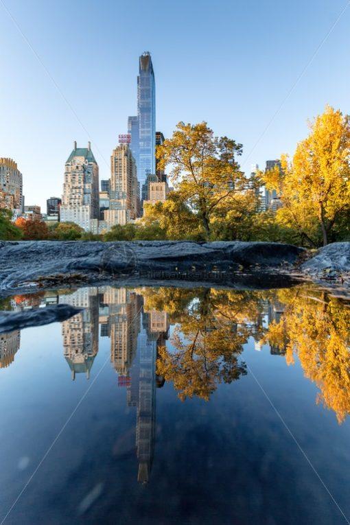 Central Park im Herbst, New York, USA - Bildtankstelle.de