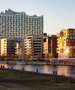 Quartiere der HafenCity, Hamburg - Bildtankstelle.de