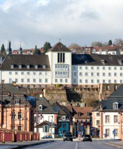 Blick auf die schöne Barockstadt Blieskastel, Saarland - Bildtankstelle.de