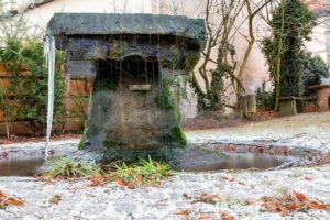 Dorfbrunnen in Wörschweiler, Saarland - Bildtankstelle.de