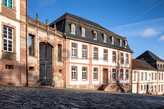 Hofratshäuser am Schlossberg, Blieskastel, Saarland - Bildtankstelle.de