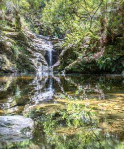 Wasserfall im Garten Eden - Bildtankstelle.de