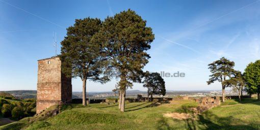 Der alte Turm der Siersburg, Saarland - Bildtankstelle.de - Bilddatenbank für Foto-Motive aus SAAR-LOR-LUX