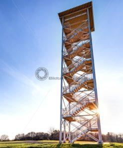 Panoramaturm Betzelhübel, Nähe Ottweiler, Saarland - Bildtankstelle.de