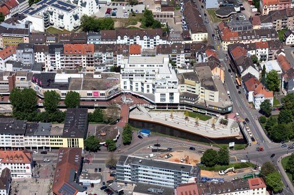 Bliesterrassen in Neunkirchen, Saarland - Bildtankstelle.de - Bilddatenbank für Foto-Motive aus SAAR-LOR-LUX
