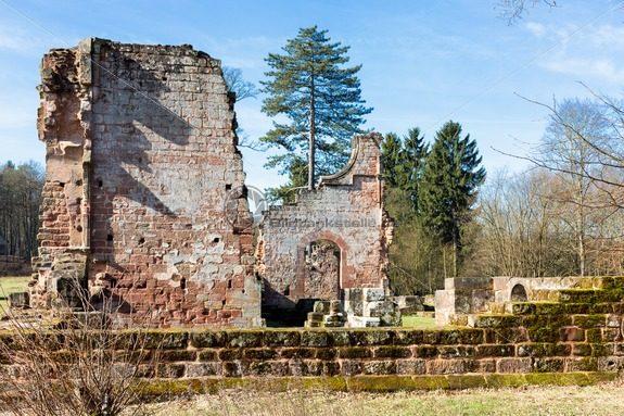Klosterruine Wörschweiler, Landkreis Homburg, Saarland - Bildtankstelle.de - Bilddatenbank für Foto-Motive aus SAAR-LOR-LUX