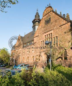 Rathaus in Dillingen, Saarland - Bildtankstelle.de - Bilddatenbank für Foto-Motive aus SAAR-LOR-LUX