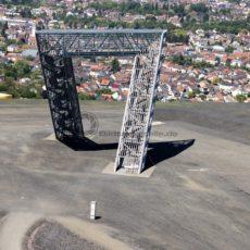Das Saarpolygon – Tor in die Zukunft , Saarland - Bildtankstelle.de - Bilddatenbank für Foto-Motive aus SAAR-LOR-LUX