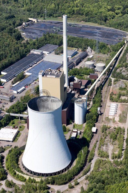 Kraftwerk Bexbach, Saarland - Bildtankstelle.de - Bilddatenbank für Foto-Motive aus SAAR-LOR-LUX