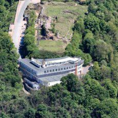 Luftaufnahme vom Schlossberg in Homburg, Saarland - Bildtankstelle.de - Bilddatenbank für Foto-Motive aus SAAR-LOR-LUX