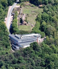 Luftaufnahme vom Schlossberg in Homburg, Saarland - Bildtankstelle.de