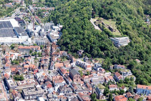 Luftaufnahme von Homburg, Saarland - Bildtankstelle.de