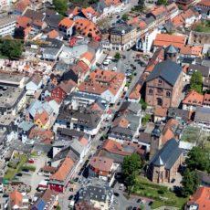 Luftaufnahme von Homburg, Saarland - Bildtankstelle.de - Bilddatenbank für Foto-Motive aus SAAR-LOR-LUX