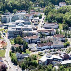 Luftaufnahme von der Universität in Homburg, Saarland - Bildtankstelle.de - Bilddatenbank für Foto-Motive aus SAAR-LOR-LUX