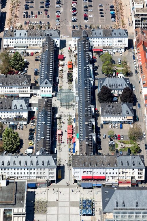 Saarlouis aus der Luft - Bildtankstelle.de - Bilddatenbank für Foto-Motive aus SAAR-LOR-LUX