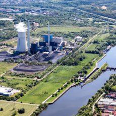 VSE Kraftwerk Ensdorf, Nähe Saarlouis, Saarland - Bildtankstelle.de - Bilddatenbank für Foto-Motive aus SAAR-LOR-LUX