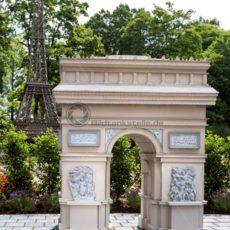 Arc de Triomphe de l'Étoile in der Gulliver Welt in Bexbach, Saarland - Bildtankstelle.de - Bilddatenbank für Foto-Motive aus SAAR-LOR-LUX