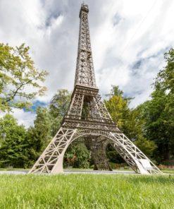 La tour Eiffel  in der Gulliver Welt in Bexbach, Saarland - Bildtankstelle.de
