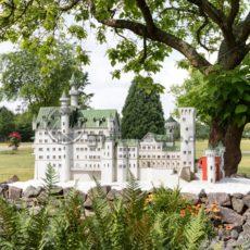 Schloss Neuschwanstein in der Gulliver Welt in Bexbach, Saarland - Bildtankstelle.de - Bilddatenbank für Foto-Motive aus SAAR-LOR-LUX