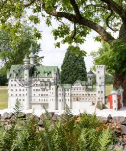Schloss Neuschwanstein in der Gulliver Welt in Bexbach, Saarland - Bildtankstelle.de
