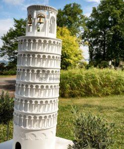 der schiefe Turm von Pisa in der Gulliver Welt in Bexbach, Saarland - Bildtankstelle.de - Bilddatenbank für Foto-Motive aus SAAR-LOR-LUX