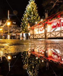 Weihnachtsmarkt Saarbrücken, Saarland - Bildtankstelle.de