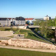 Historische Anlage in Saarlouis, Saarland - Bildtankstelle.de